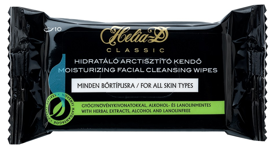 HELIA-D Moisturizing Facial Cleansing Wipes (10 Units)