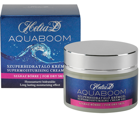 Helia-D Aquaboom Supermoisturising cream gel for dry skin