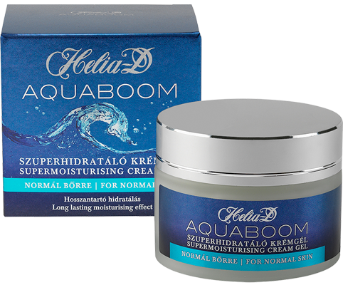 Helia-D Aquaboom Supermoisturising cream gel for normal skin